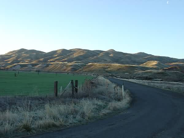 Painted Hills - Bridge Creek