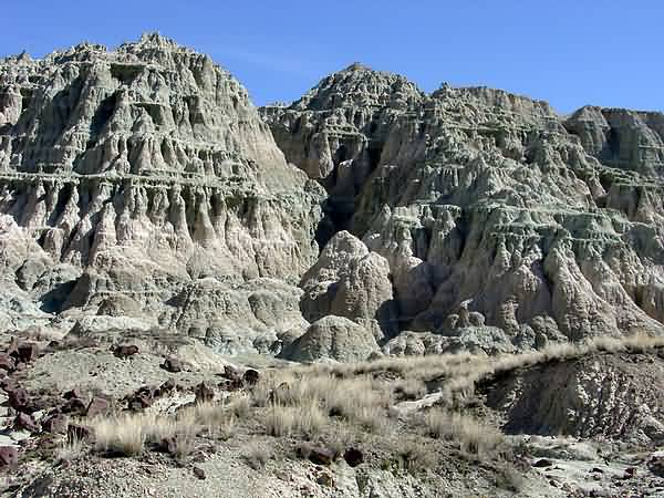 Blue Basin Badlands