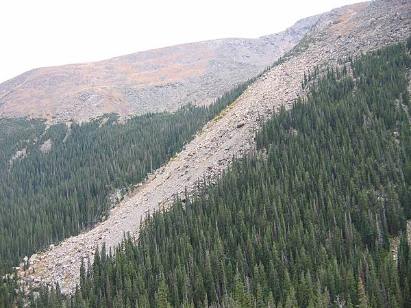 Rock Slide - Fall River Basin