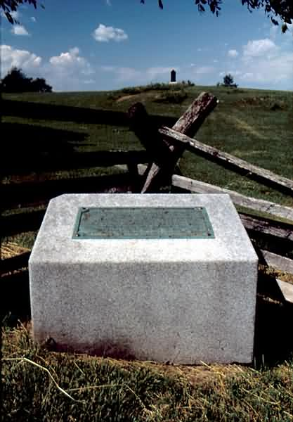 14th Indiana Infantry Monument