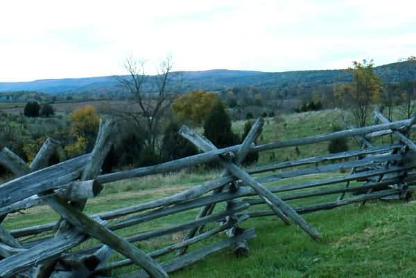 Fall Colors & Rail Fence