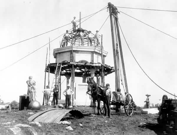 Construction of Maryland Sate Monument