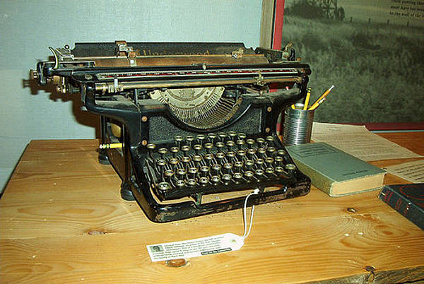 Typewriter Refugee