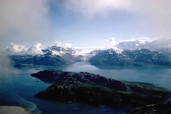 Aerial View of Fjords