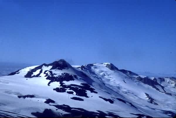 Mount Martin and Alagogshak Volcano