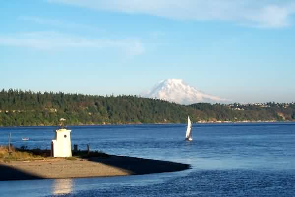 Mount Rainier from Puget Sound
