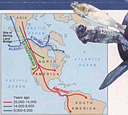 First Americans Early Migration Routes
