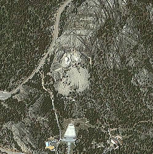 Mount Rushmore Satellite Image