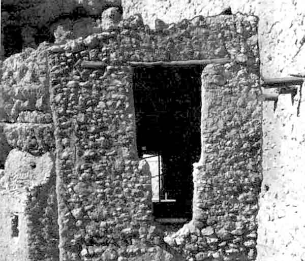Montezuma Castle Doorway