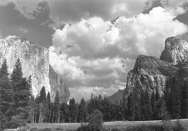 El Capitan & Cathedral Rocks