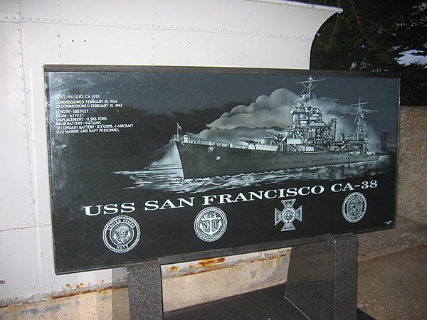 USS San Francisco CA-38