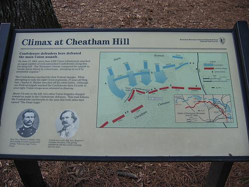 Climax at Cheatham Hill