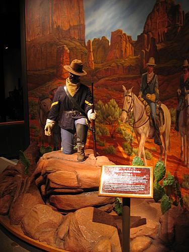 Museum of Westward Expansion - Animatronic Cavalry