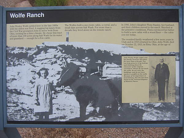 """Wolfe Ranch"" Sign"