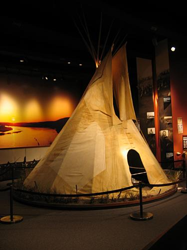 Museum of Westward Expansion - Teepee
