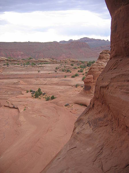 Along Delicate Arch Trail