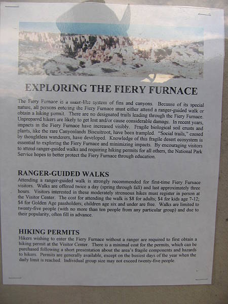 Exploring the Fiery Furnace