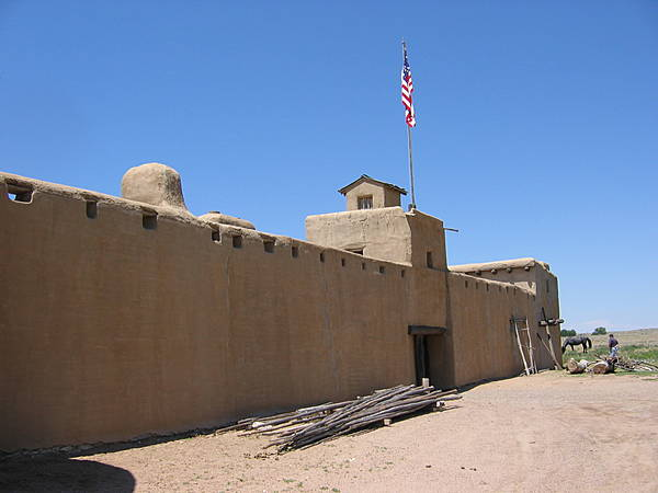 Outside Front of Fort