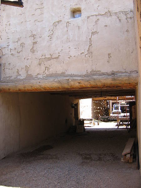 Passageway Under Billiard Room