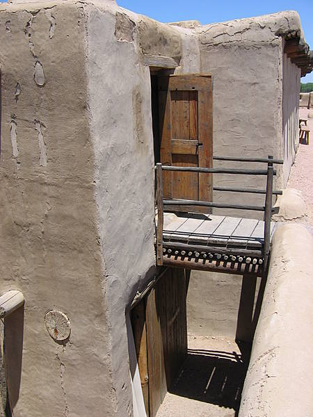 Exterior of Clerk's Quarters