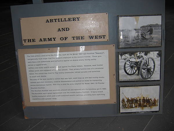 Artillery and the Army of the West