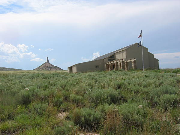 Chimney Rock & Visitor Center