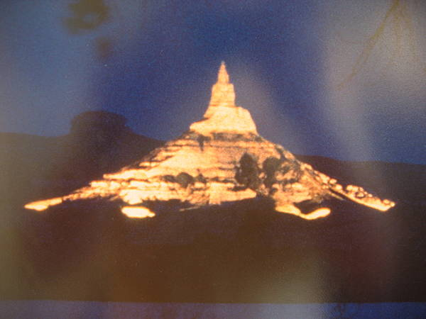 Chimney Rock Lighted