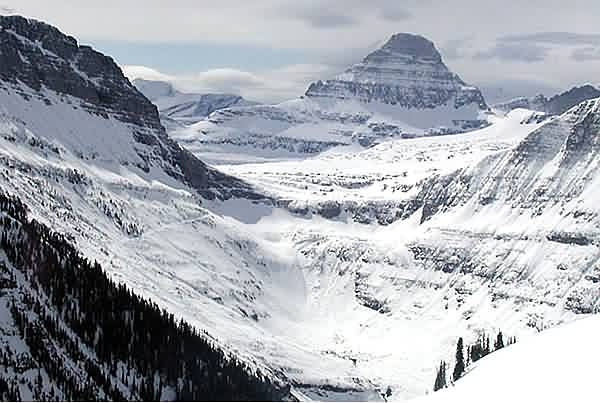 Logan Pass and Reynolds Mountain