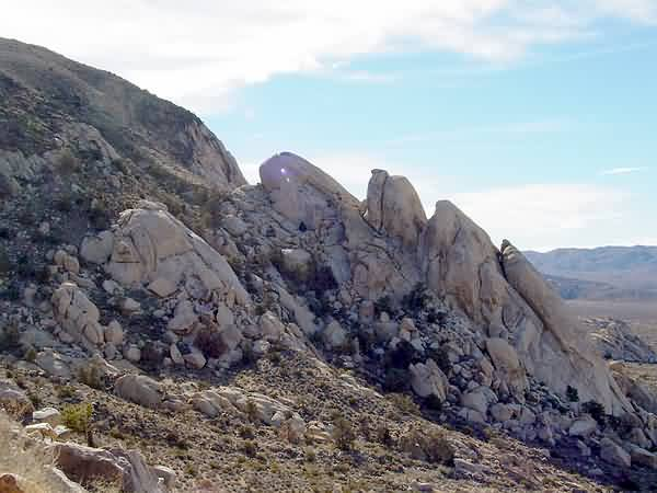 Exfoliating Granitic Domes - Ryan Mountain Trail