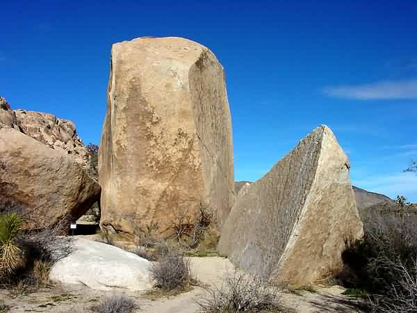 Granitic Boulders - Wall Street Mill