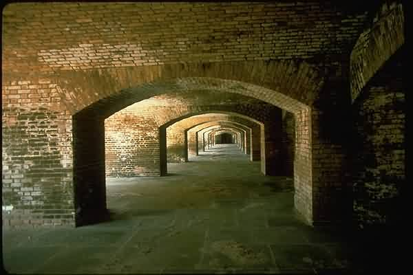 Fort Jefferson National Monument - Hallway