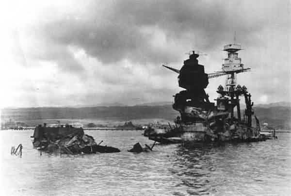 USS Arizona Aftermath