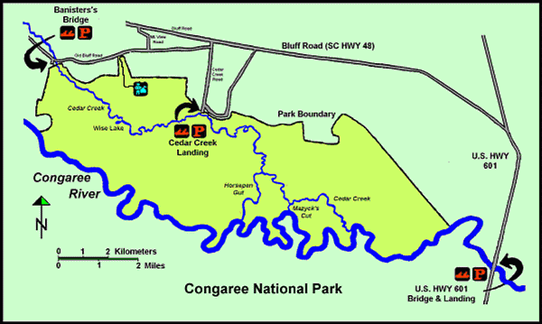 Canoeing Map